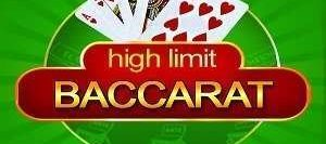 High Limit Baccarat Slot