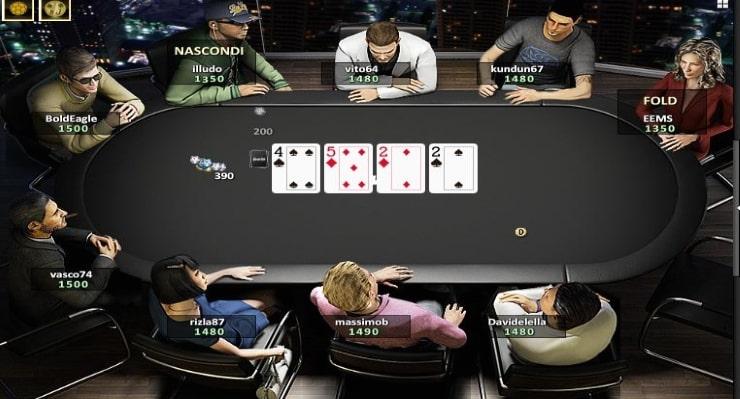 jouer au poker en ligne gratuitement