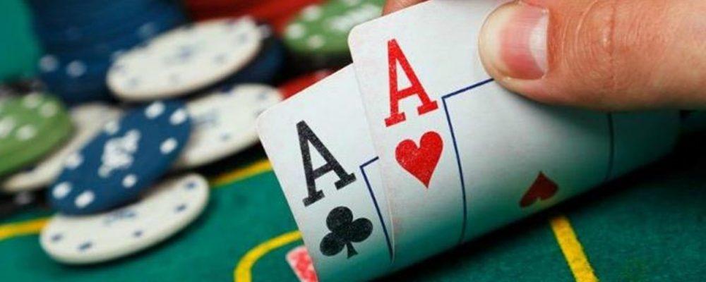 le poker le ligne