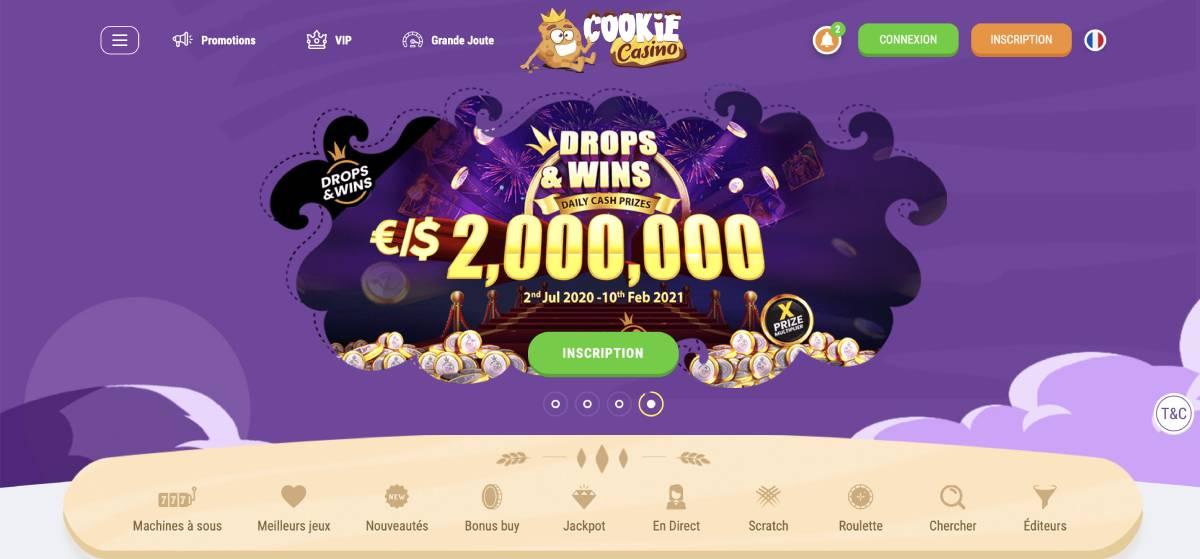 cookie casino avis