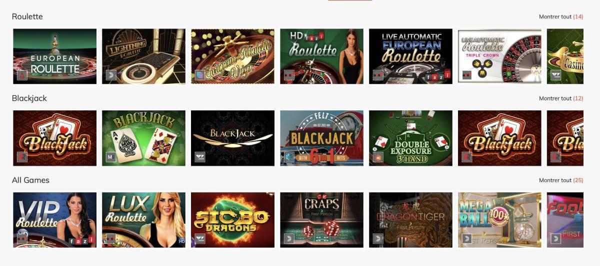 bahigo casino jeux
