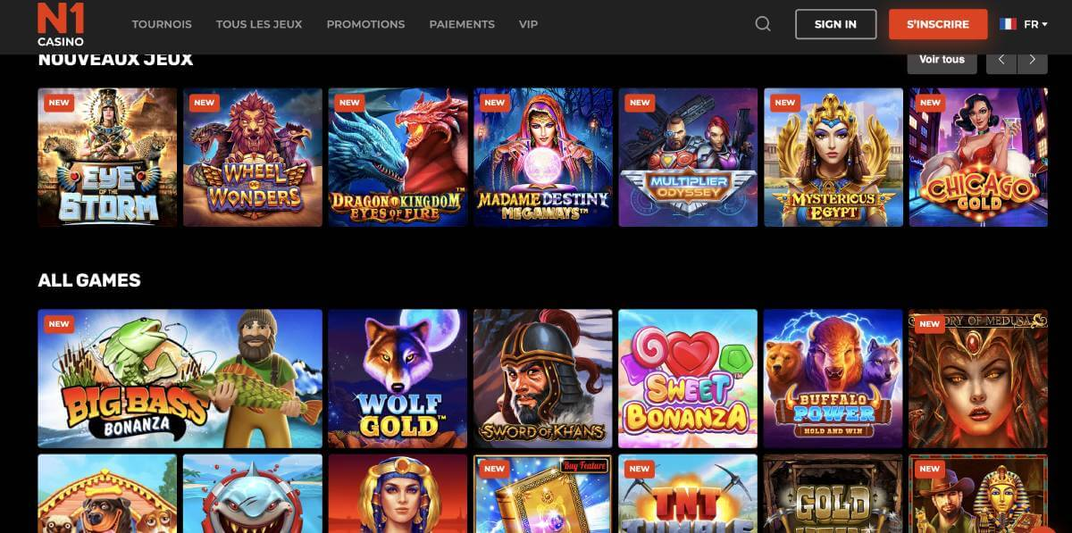n1 casino en ligne