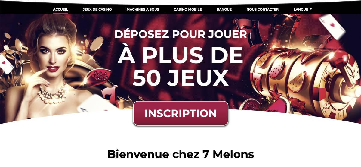 7melons casino en ligne