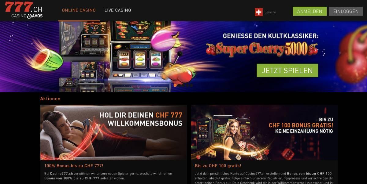 777 casino ch bonus