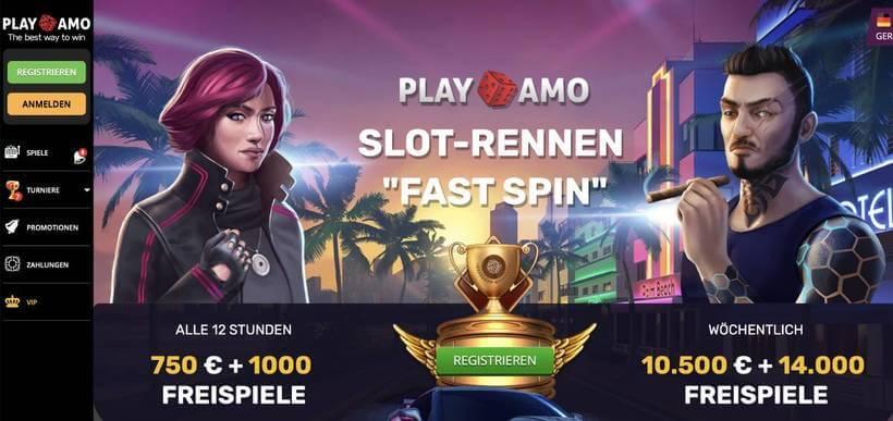 playamo casino turniere